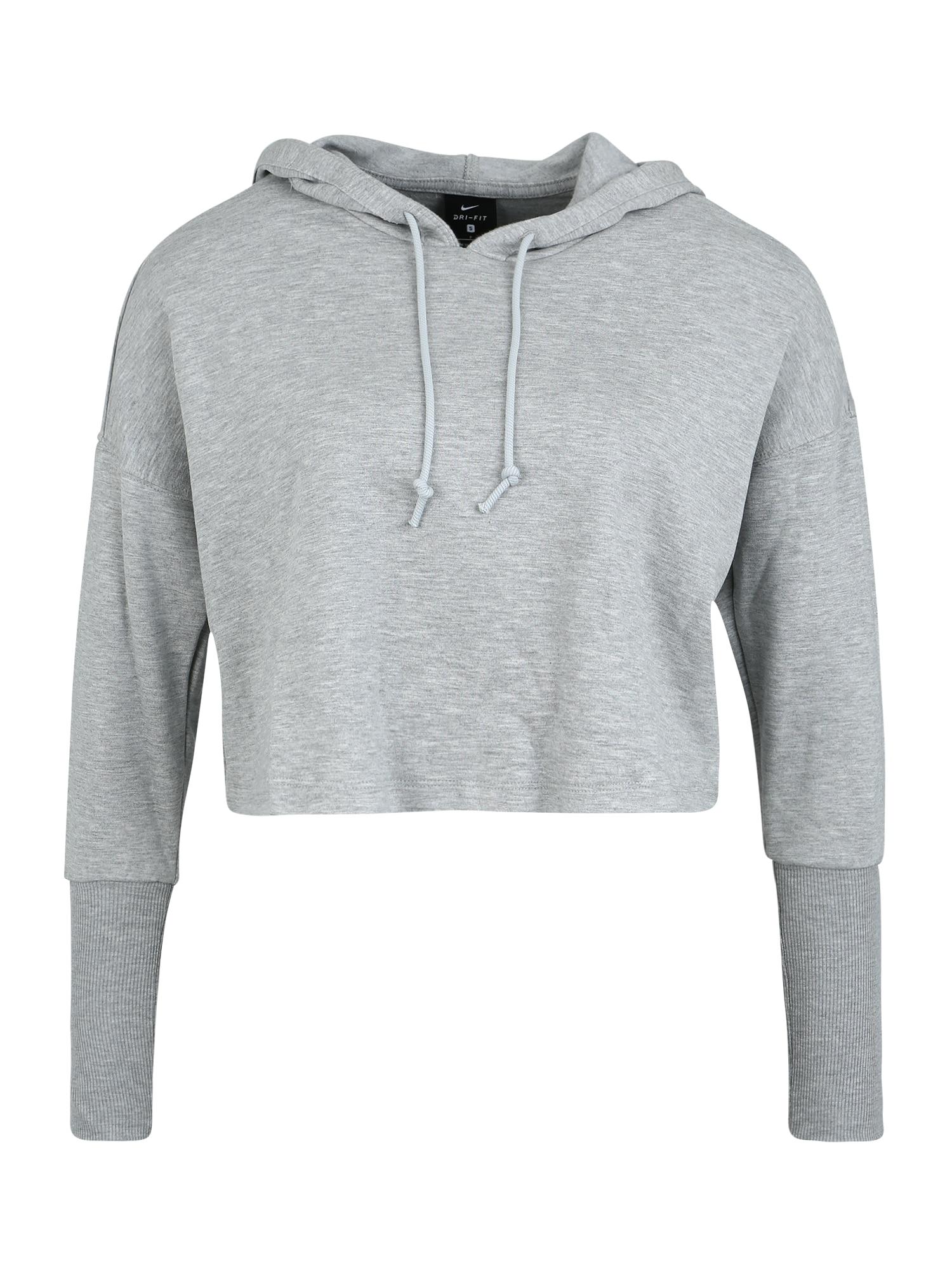 NIKE Sportinio tipo megztinis pilka