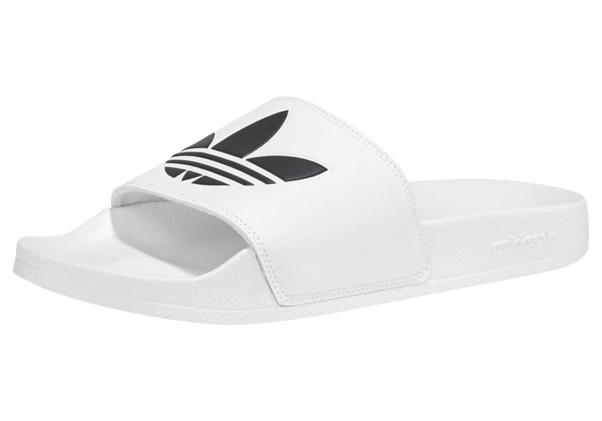 ADIDAS ORIGINALS Šľapky 'Adilette Lite'  biela / čierna