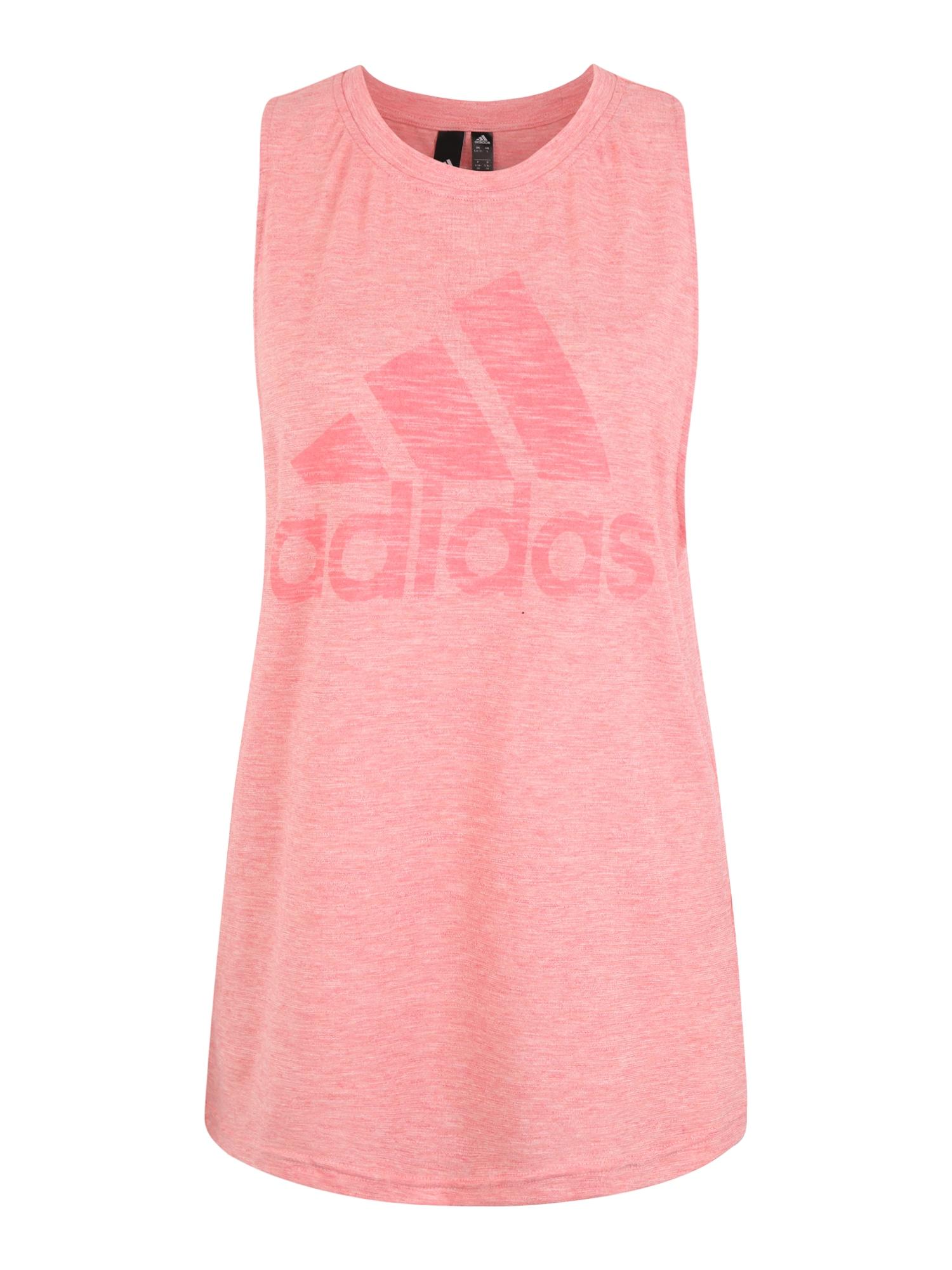 ADIDAS PERFORMANCE Sportovní top  pink