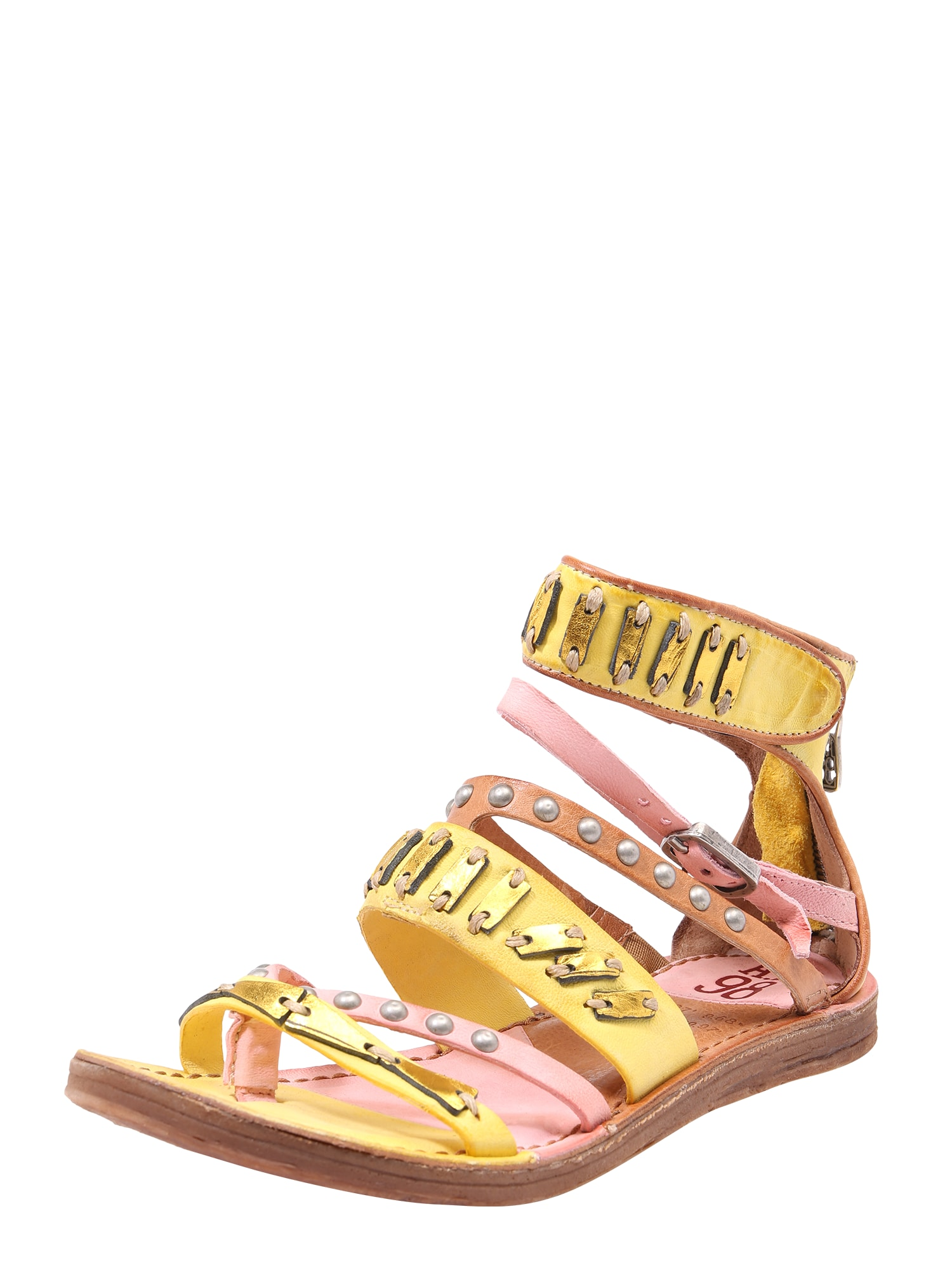 Sandály RAMOS žlutá A.S.98