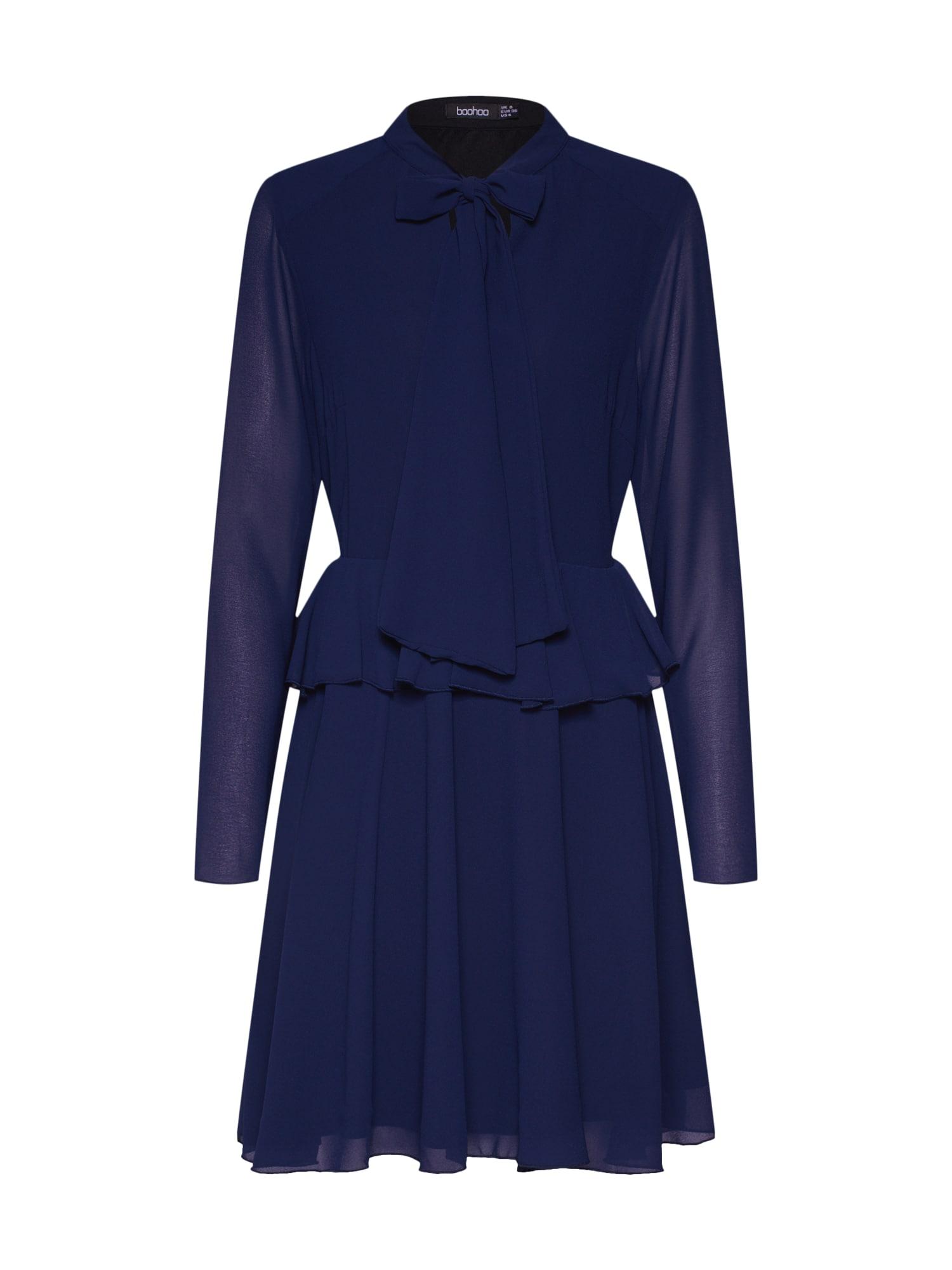 Boohoo Palaidinės tipo suknelė tamsiai mėlyna
