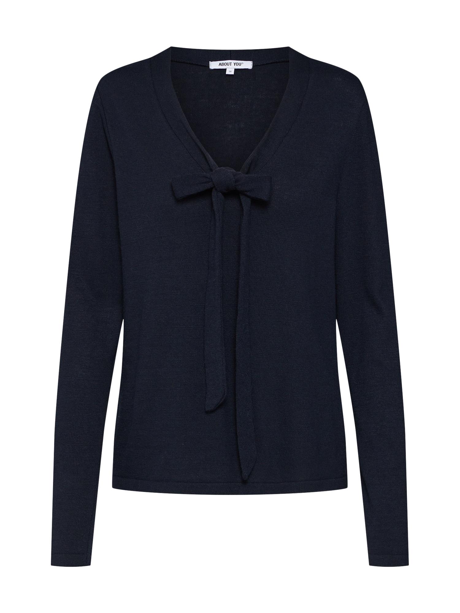 ABOUT YOU Megztinis 'Cosima' tamsiai mėlyna
