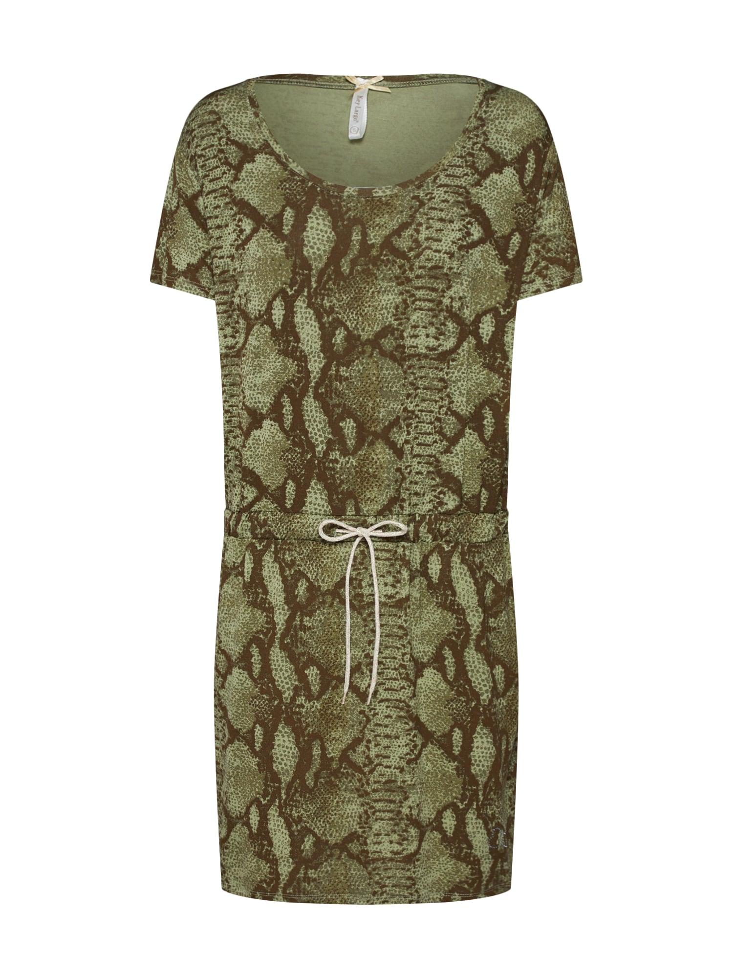 Letní šaty CLEOPATRA khaki Key Largo