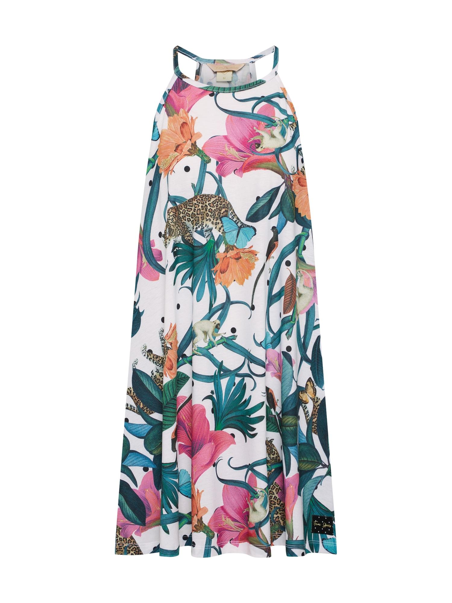 Letní šaty BOBI mix barev Femi Stories