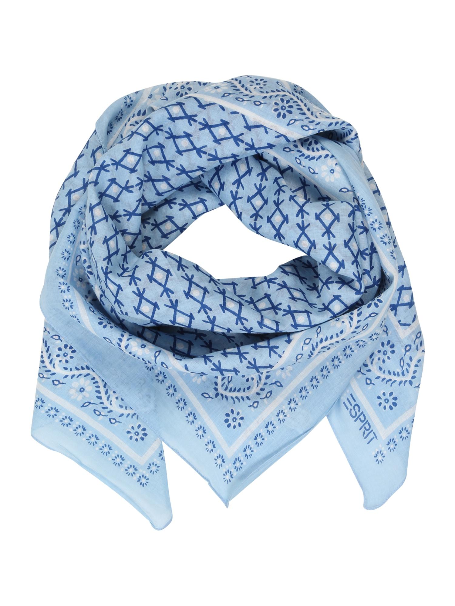 ESPRIT Šalikas mėlyna / šviesiai mėlyna