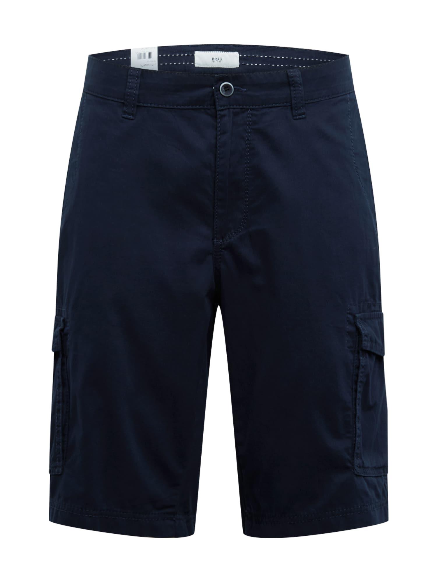 BRAX Laisvo stiliaus kelnės 'BRAZIL' tamsiai mėlyna jūros spalva