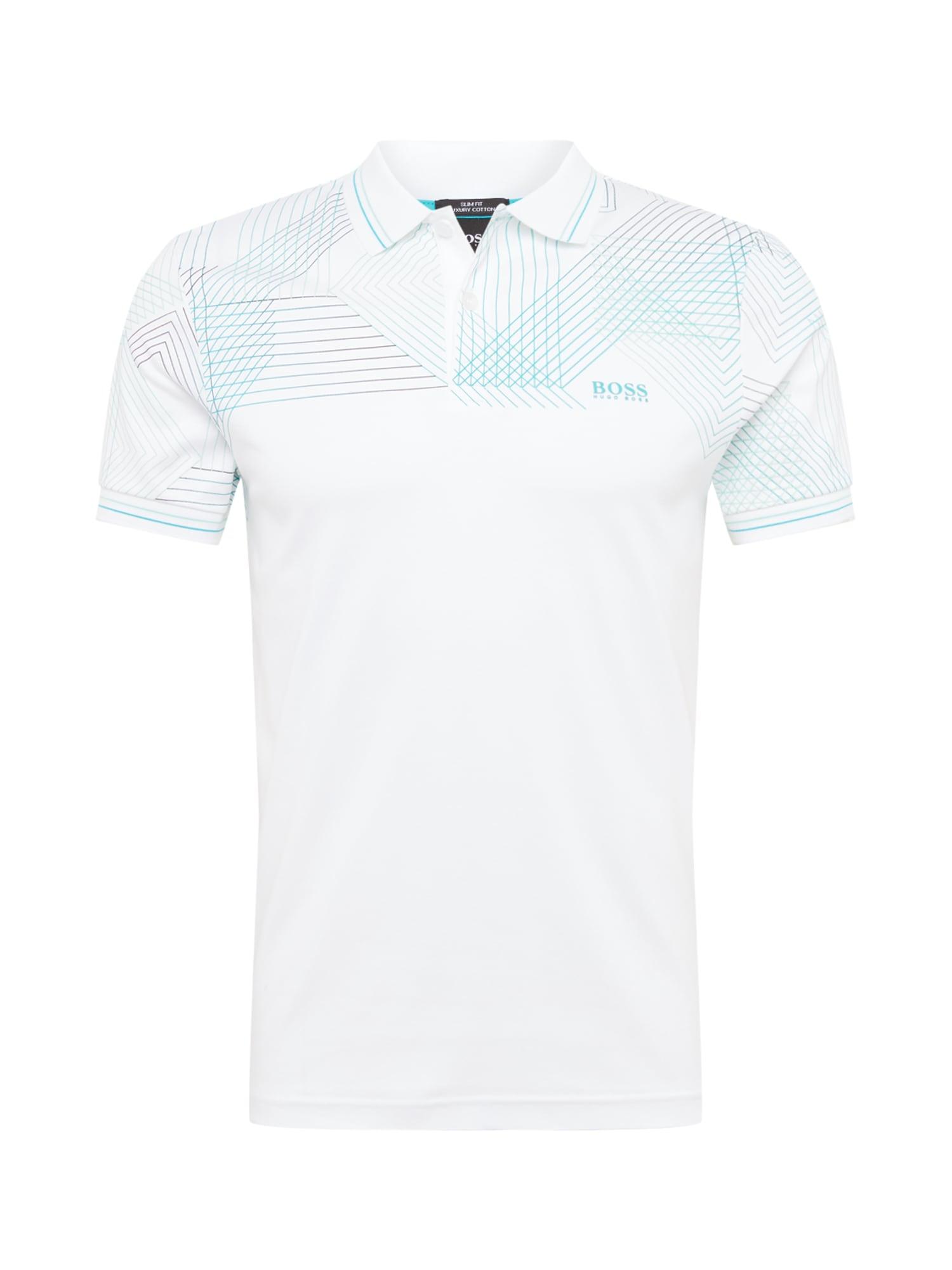 BOSS ATHLEISURE Marškinėliai 'Paule 5' tamsiai mėlyna