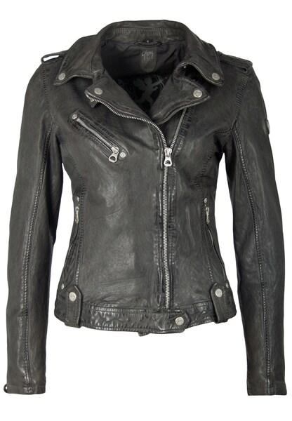 Jacken für Frauen - Gipsy Lederjacke 'FAMOS W19 LAOSV' grau  - Onlineshop ABOUT YOU