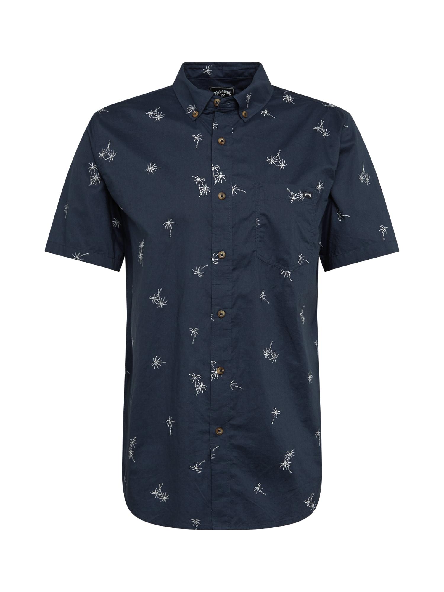 BILLABONG Dalykiniai marškiniai 'Dope Dyed' tamsiai mėlyna