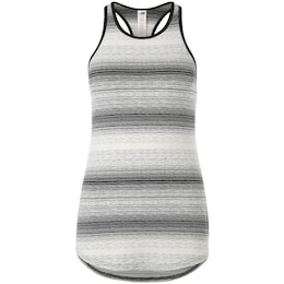 New Balance Damen Trainingstank Layer grau,weiß | 00190325078669