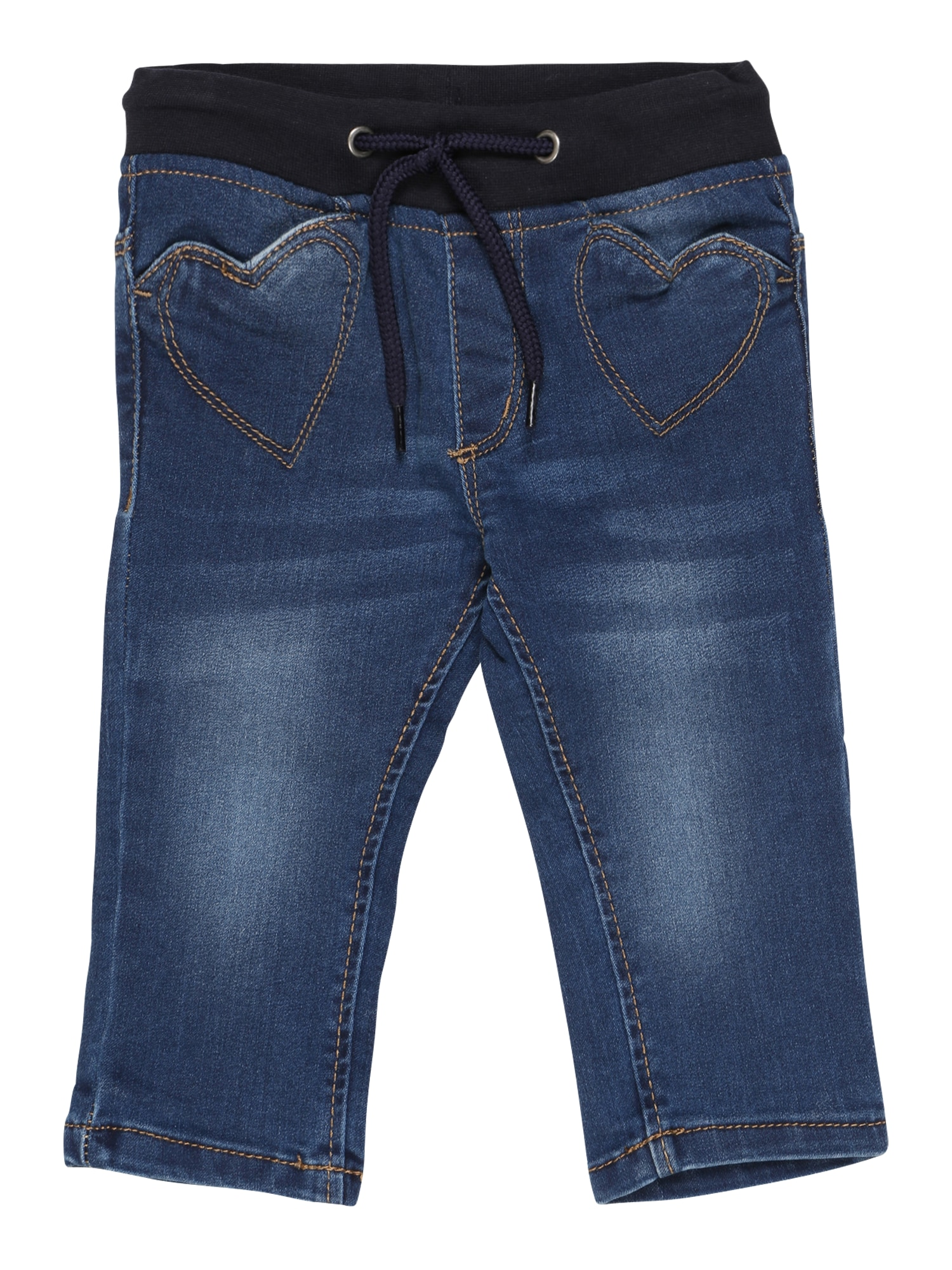 BLUE SEVEN Džinsai tamsiai (džinso) mėlyna