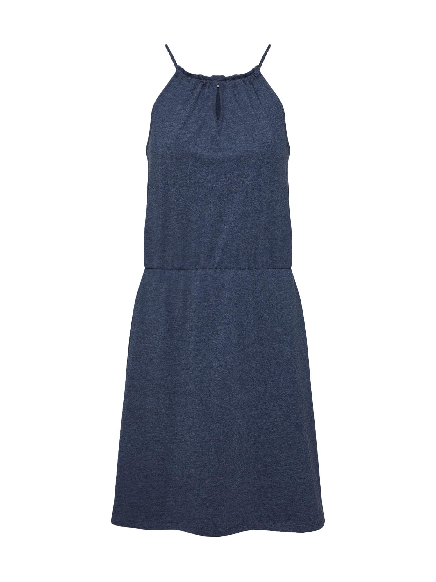 EDC BY ESPRIT Vasarinė suknelė 'Easy' tamsiai mėlyna