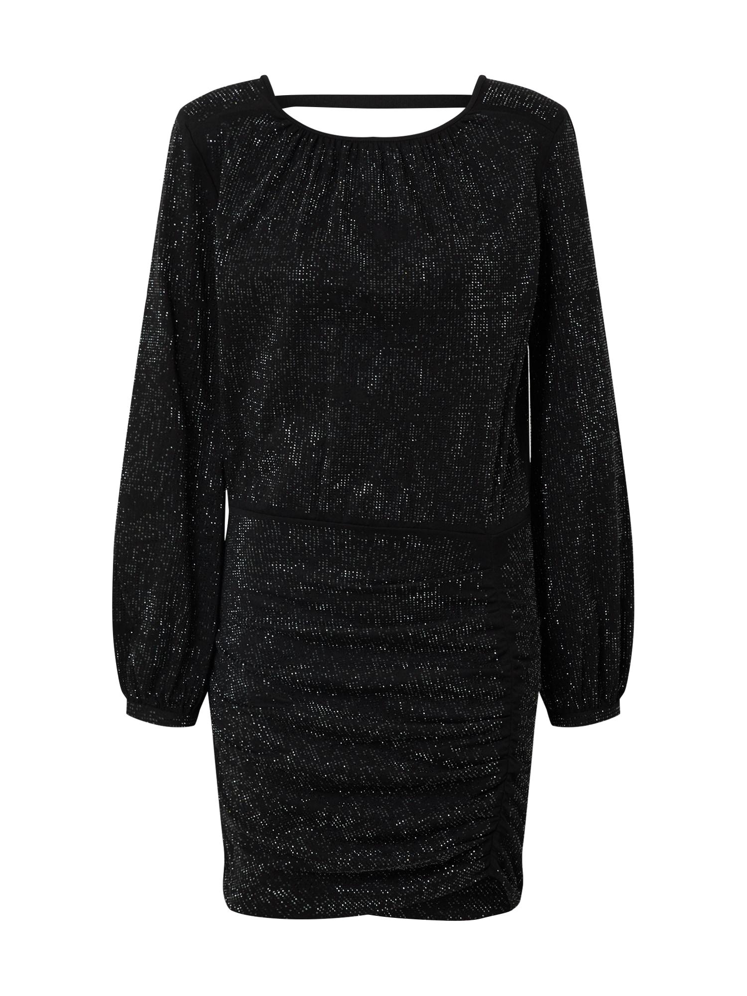 DIESEL Koktejlové šaty 'D-RENEE-BLING-V2'  černá