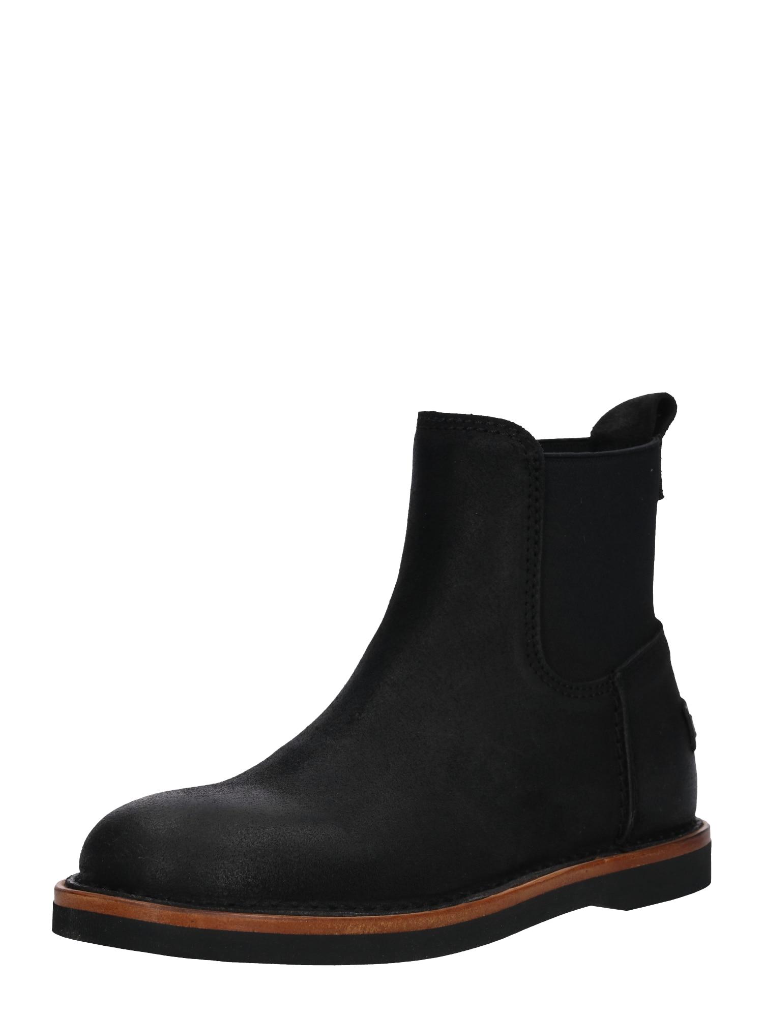 Chelsea boty černá SHABBIES AMSTERDAM