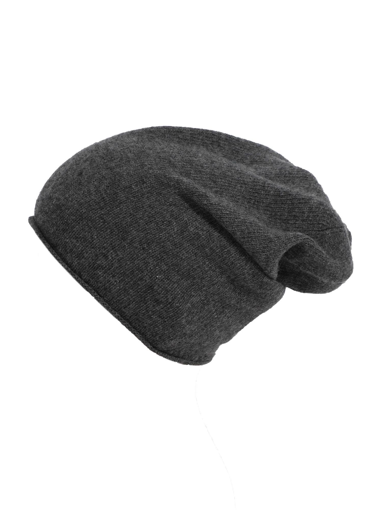 ABOUT YOU Megzta kepurė 'Nadja' pilka / antracito