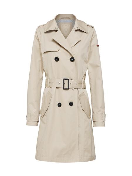 Jacken für Frauen - ESPRIT Mantel beige  - Onlineshop ABOUT YOU