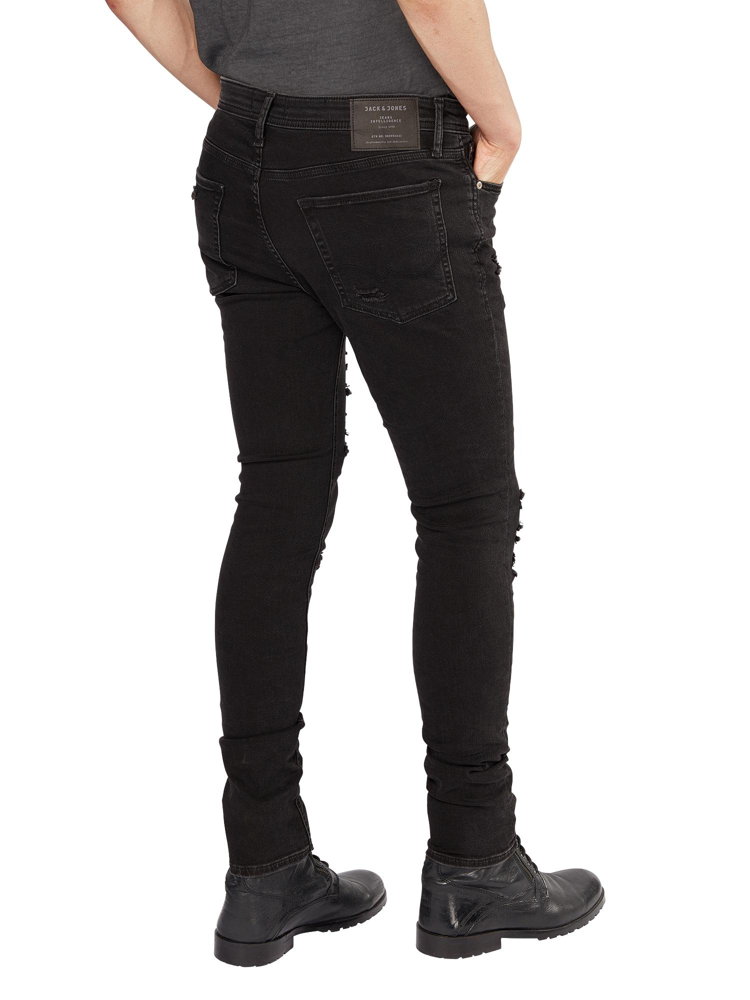 JACK & JONES Jeans 'LIAM ORIGINAL AM 502'  svart