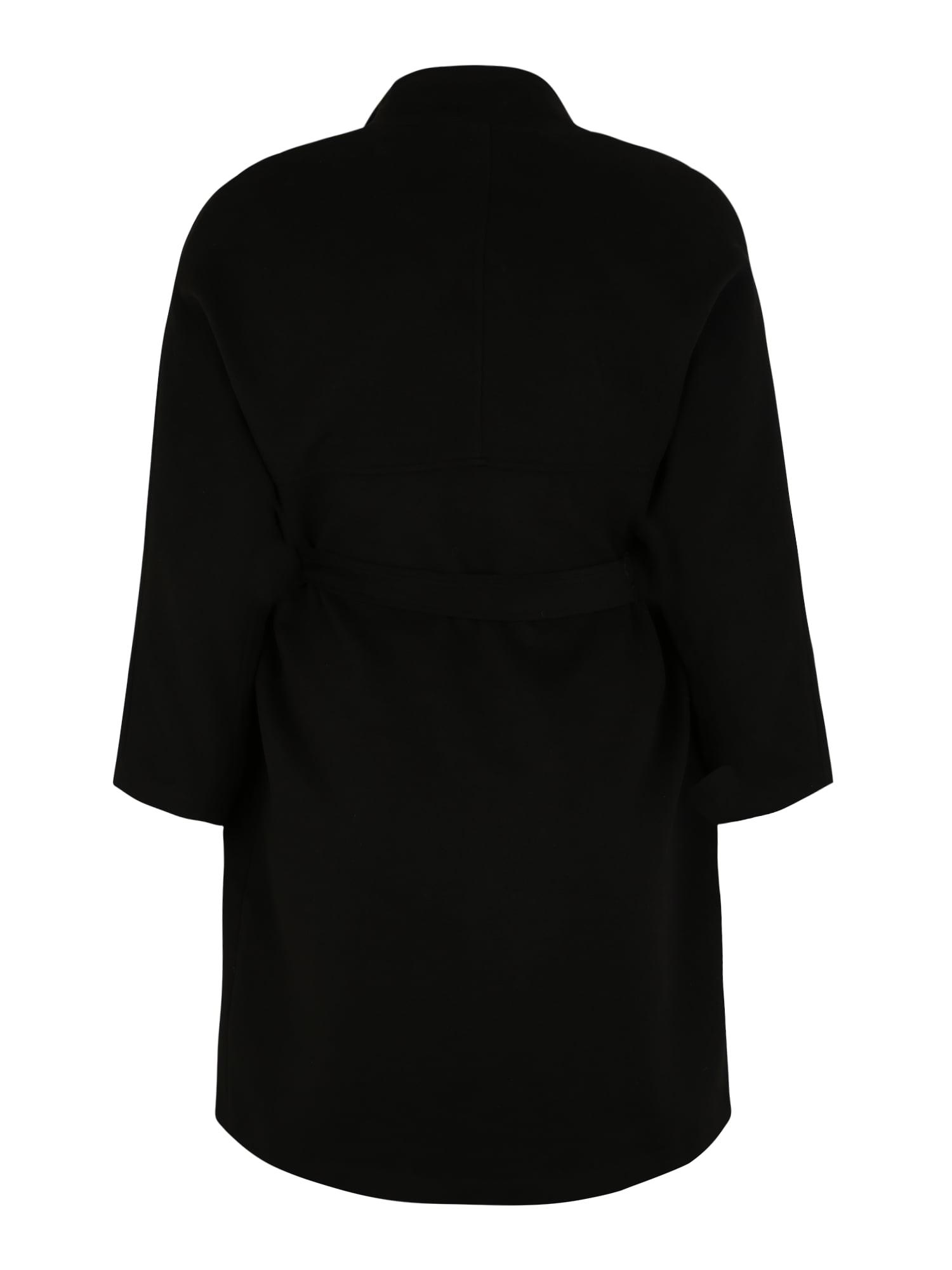 ABOUT YOU Curvy Övergångskappa 'Charis Coat'  svart