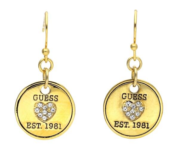 Ohrringe für Frauen - GUESS Ohrhänger 'UBE81127' gold  - Onlineshop ABOUT YOU
