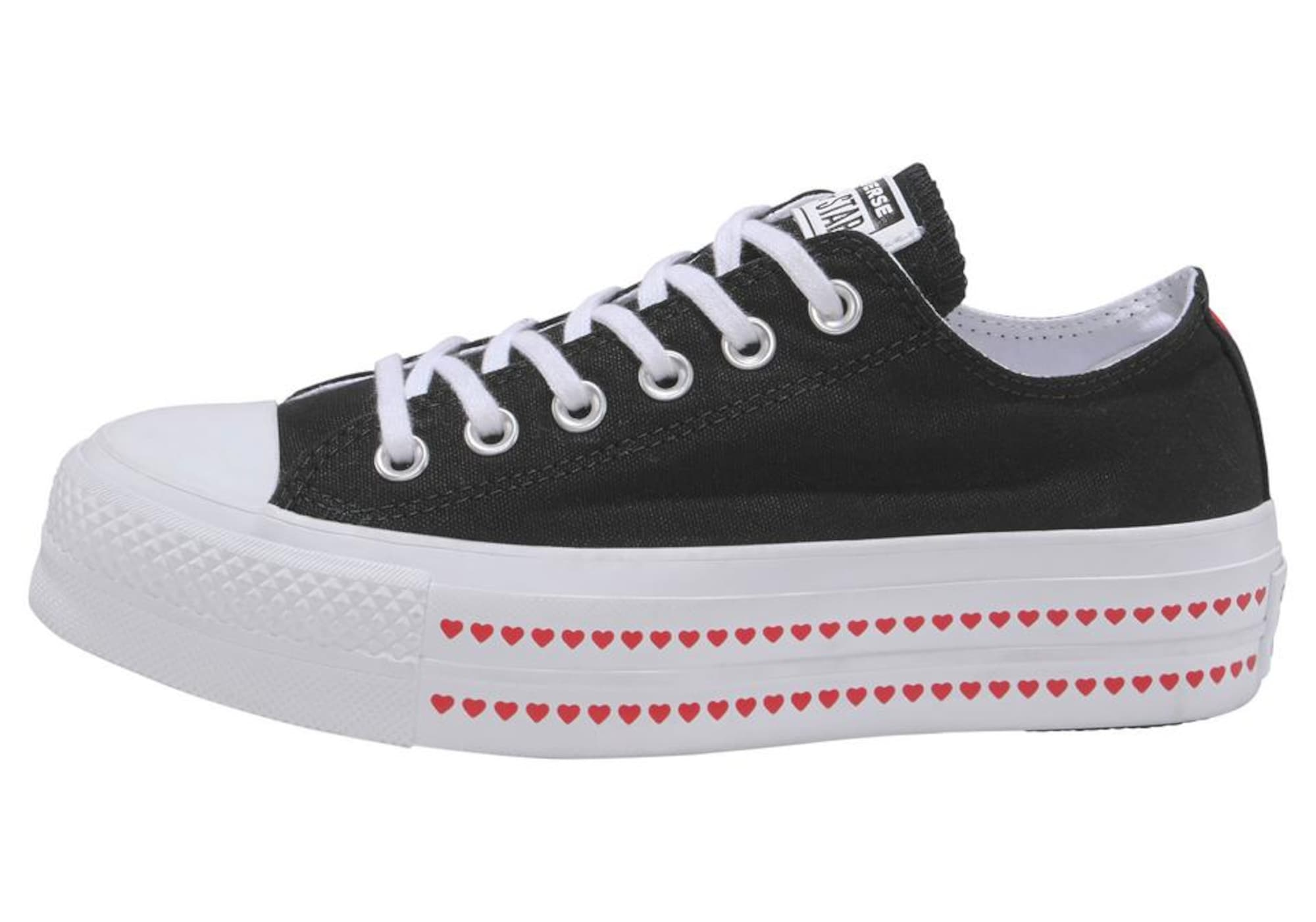 Sneaker Chuck Taylor All Star Lift Ox Love Fearlessly