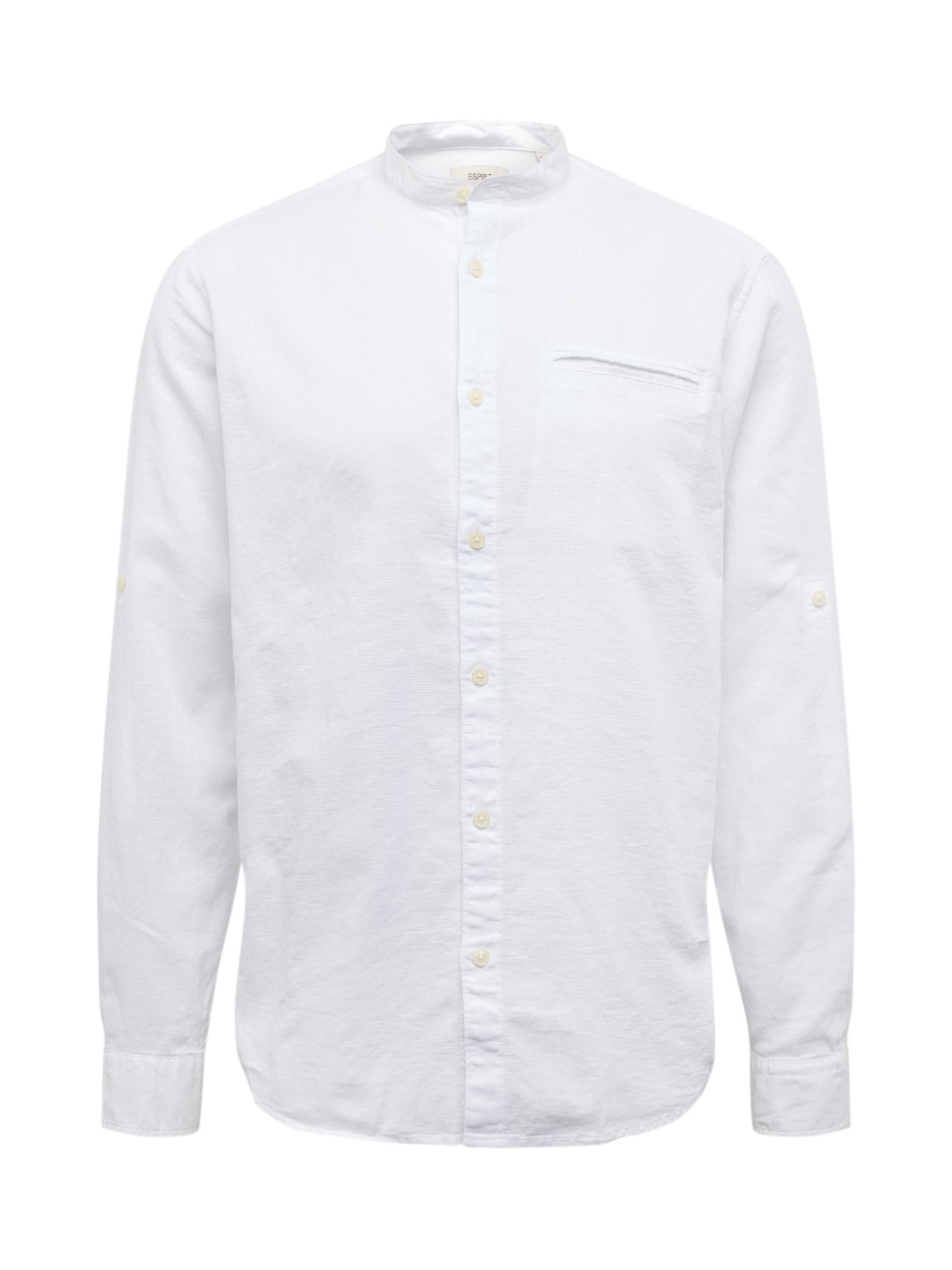 ESPRIT Dalykiniai marškiniai 'MLA-040EE2F304' balta