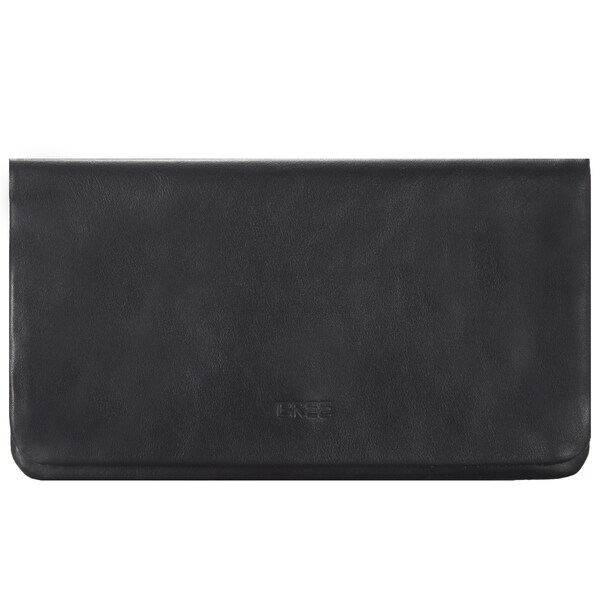 Clutches für Frauen - BREE Beverly Hills 11 Clutch Leder 25 cm schwarz  - Onlineshop ABOUT YOU