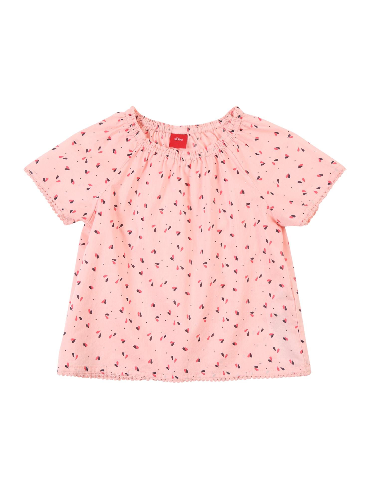 Halenka pink červená S.Oliver Junior