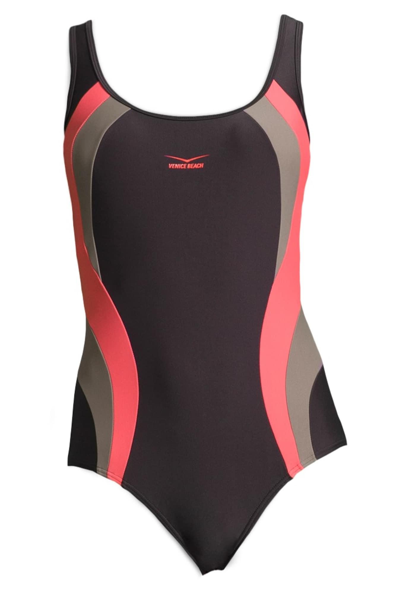 Stahovací plavky lilek pink VENICE BEACH
