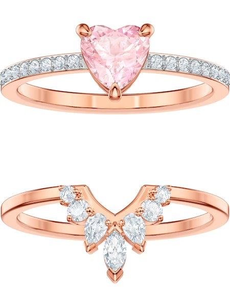 Schmucksets - Ring 'One 5474938' › Swarovski › rosegold rosa transparent  - Onlineshop ABOUT YOU