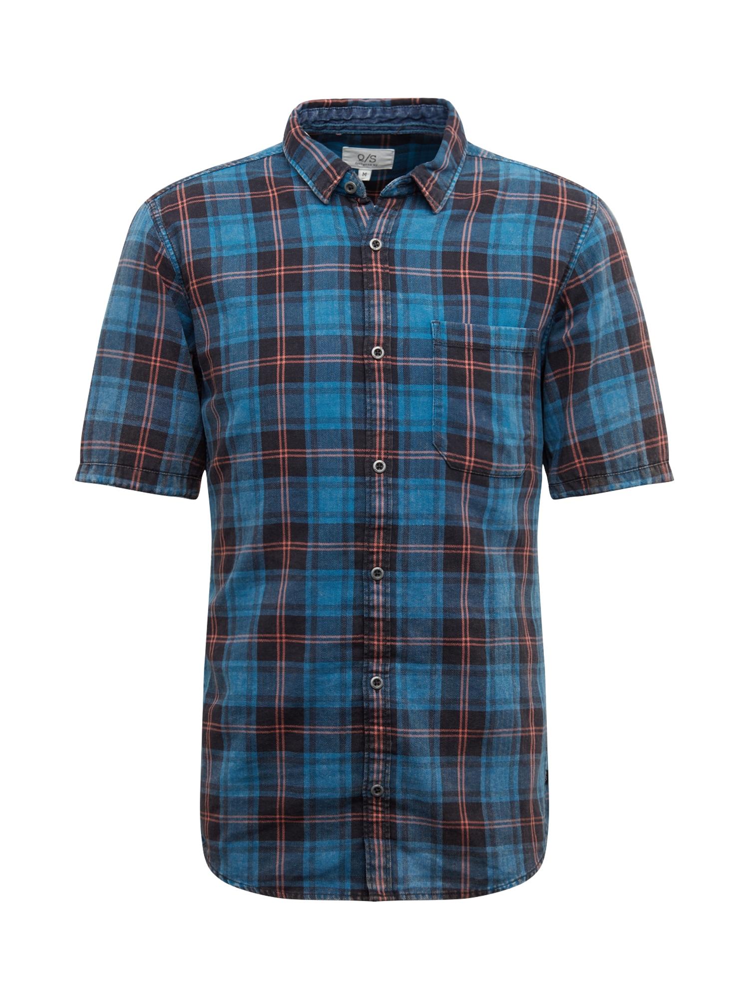 Q/S designed by Dalykiniai marškiniai raudona / mėlyna
