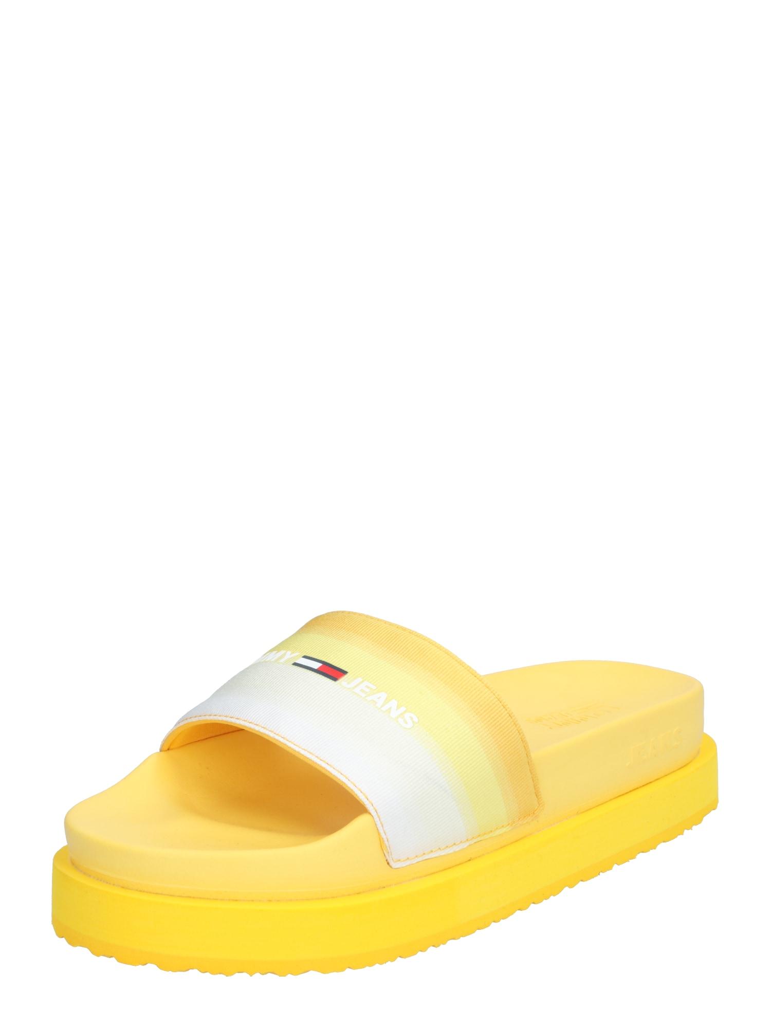 Tommy Jeans Saboți  galben
