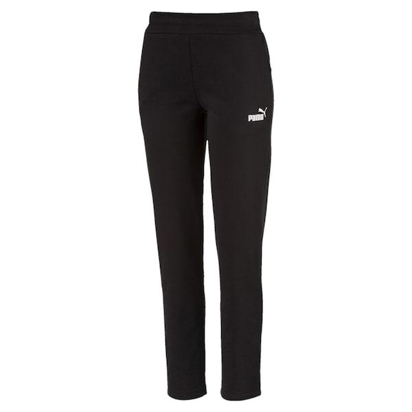 Hosen - 'Essentials Fleece' Sweatpants › Puma › schwarz  - Onlineshop ABOUT YOU