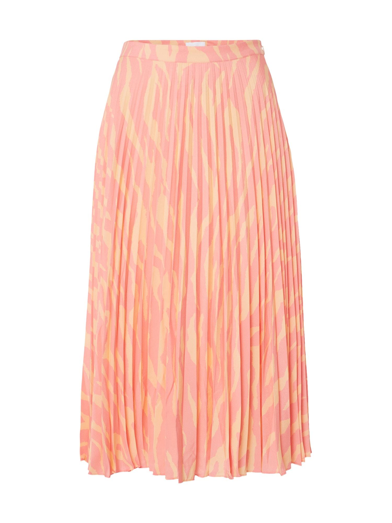 2NDDAY Sijonas 'Jen Zebra' oranžinė / rožinė