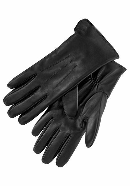 Handschuhe für Frauen - J. Jayz Lederhandschuhe schwarz  - Onlineshop ABOUT YOU