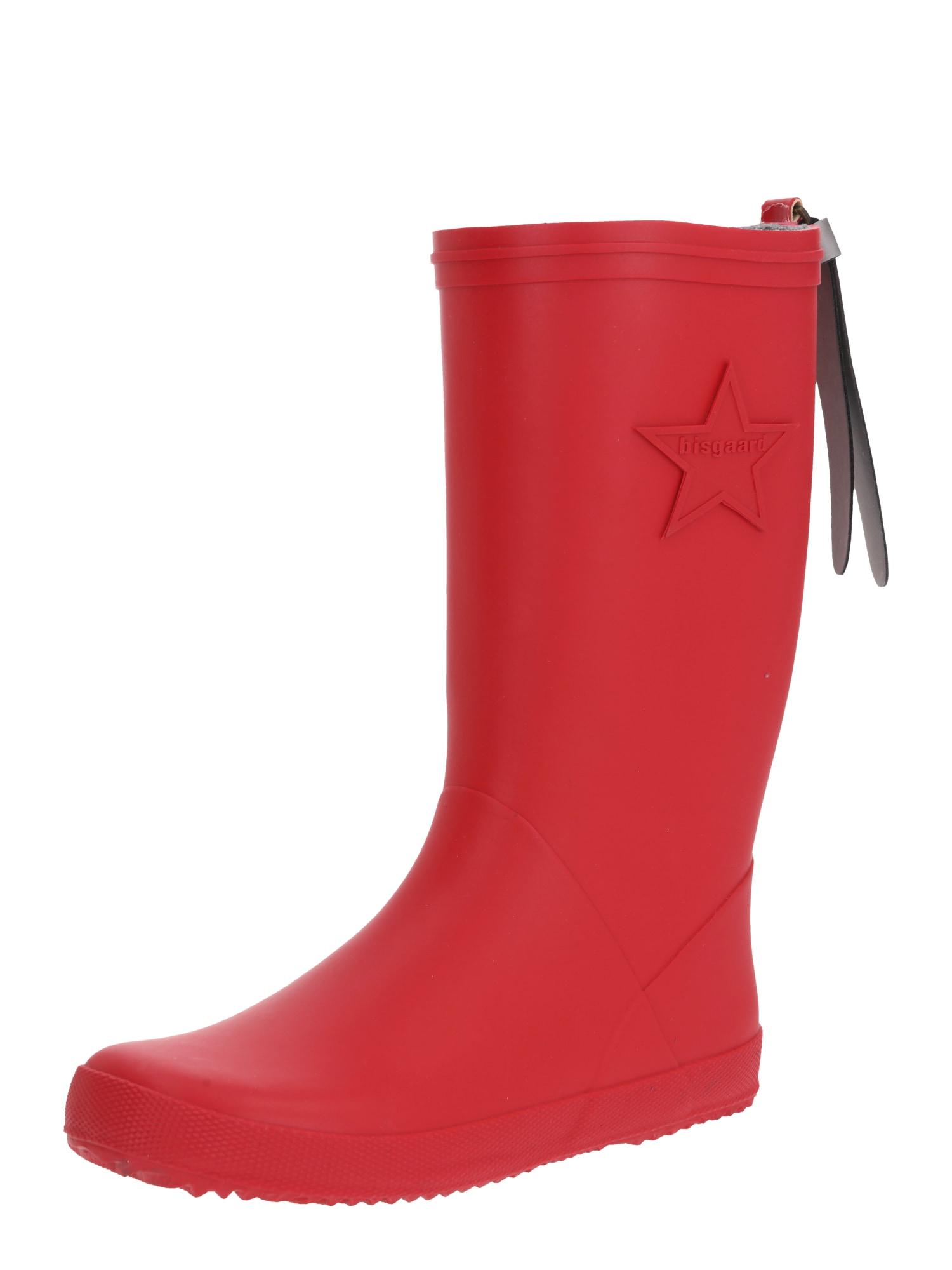 BISGAARD Guminiai batai raudona
