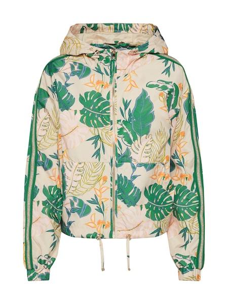 Jacken für Frauen - ONLY Jacke 'onlMADELEN' beige dunkelgrün dunkelorange  - Onlineshop ABOUT YOU