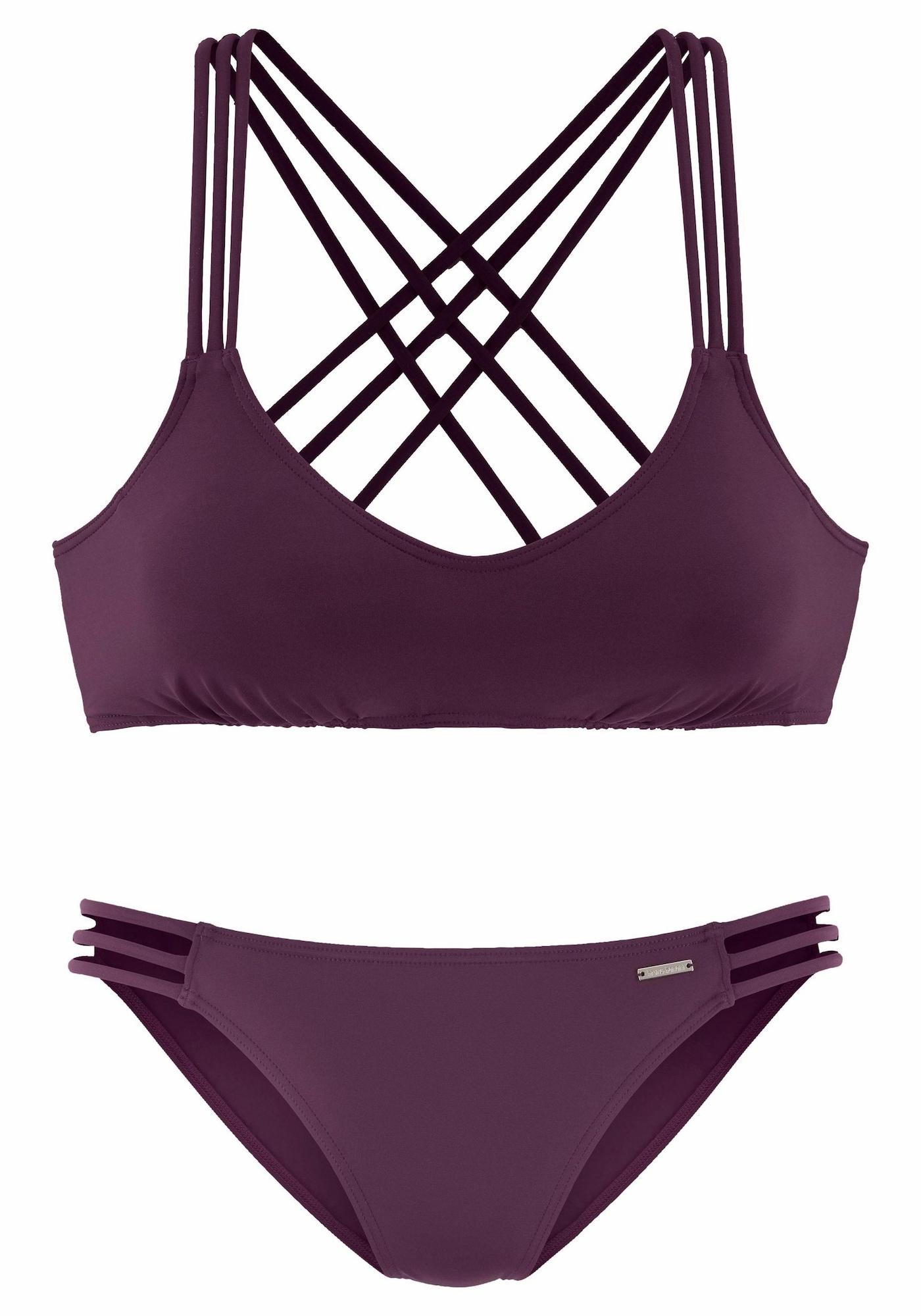 BRUNO BANANI Bikinis vyšninė spalva