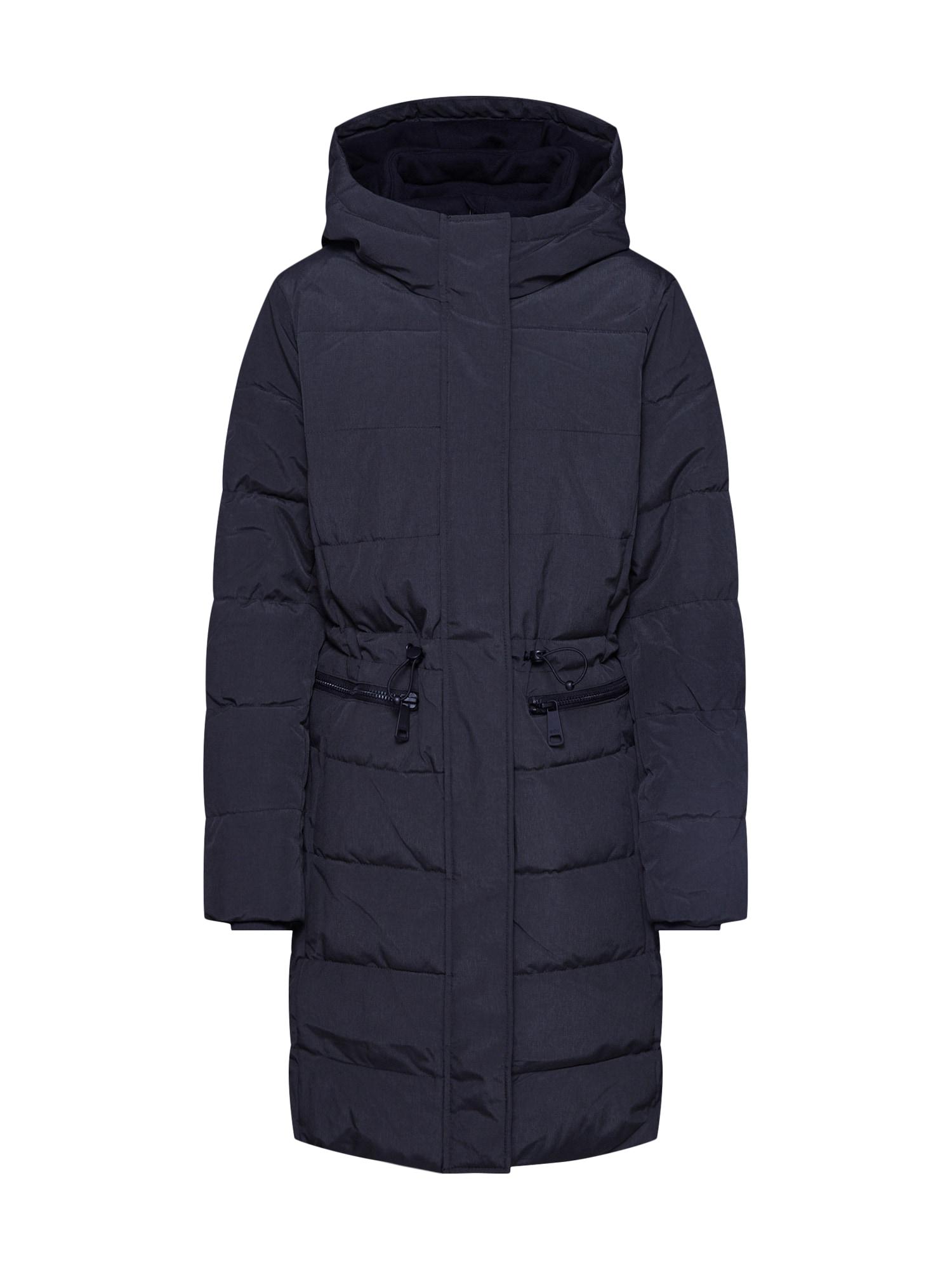 EDC BY ESPRIT Žieminis paltas '3M Thinsulate' nakties mėlyna