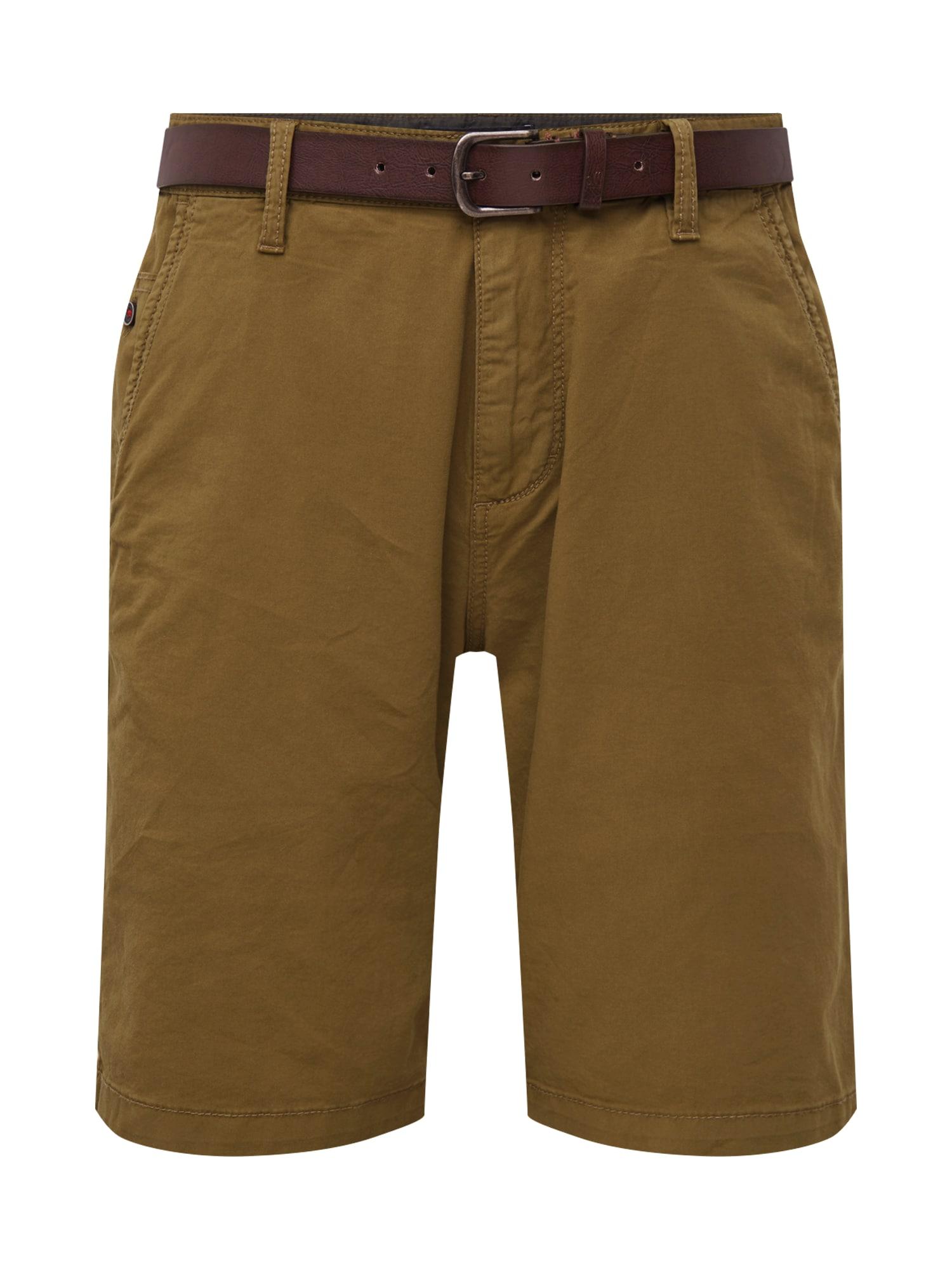 Chino kalhoty braun S.Oliver RED LABEL
