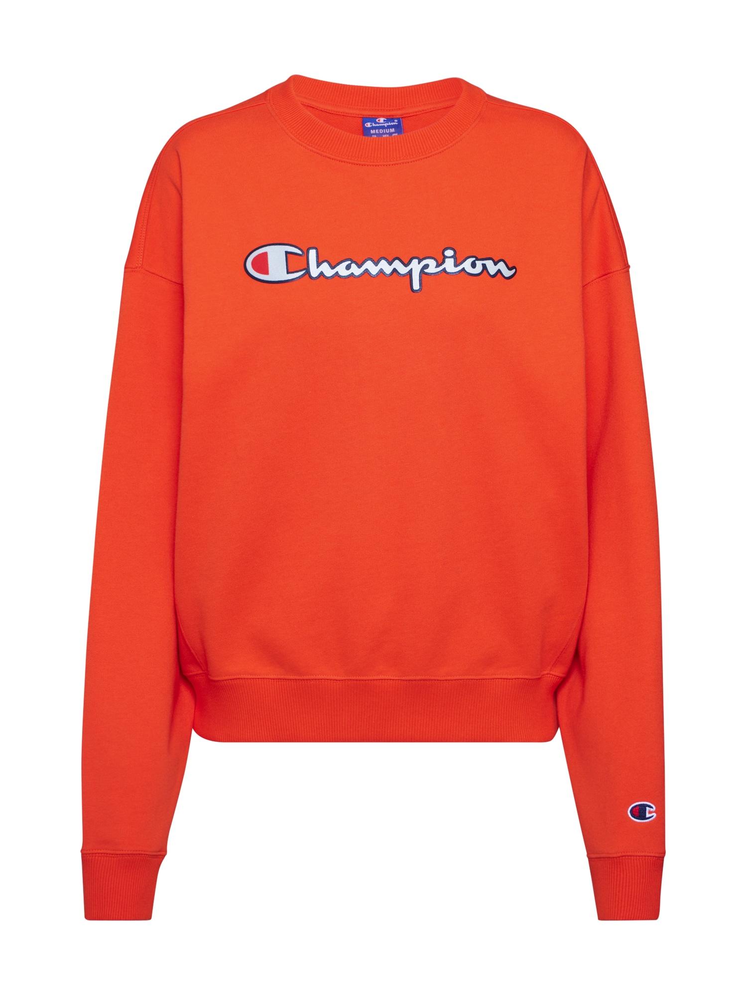 Champion Authentic Athletic Apparel Megztinis be užsegimo ugnies raudona