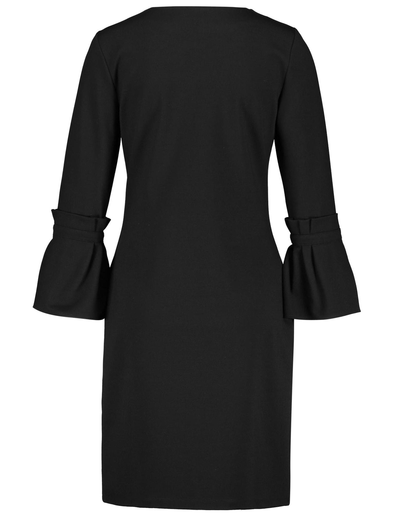TAIFUN Kleid schwarz - Schwarzes Kleid