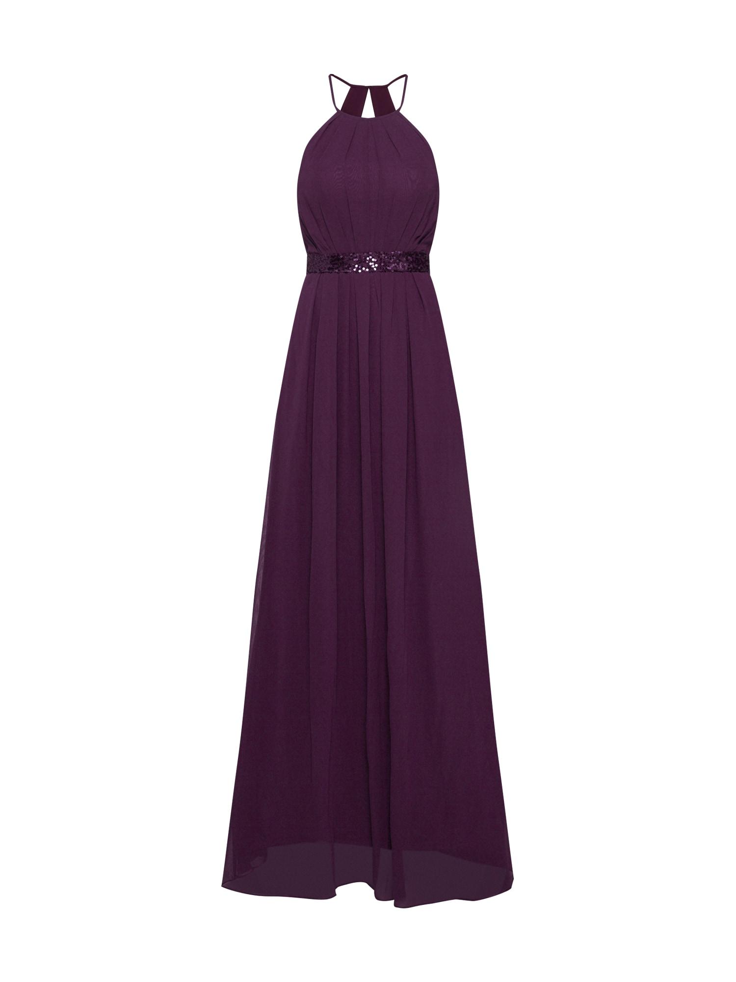 STAR NIGHT Vakarinė suknelė purpurinė