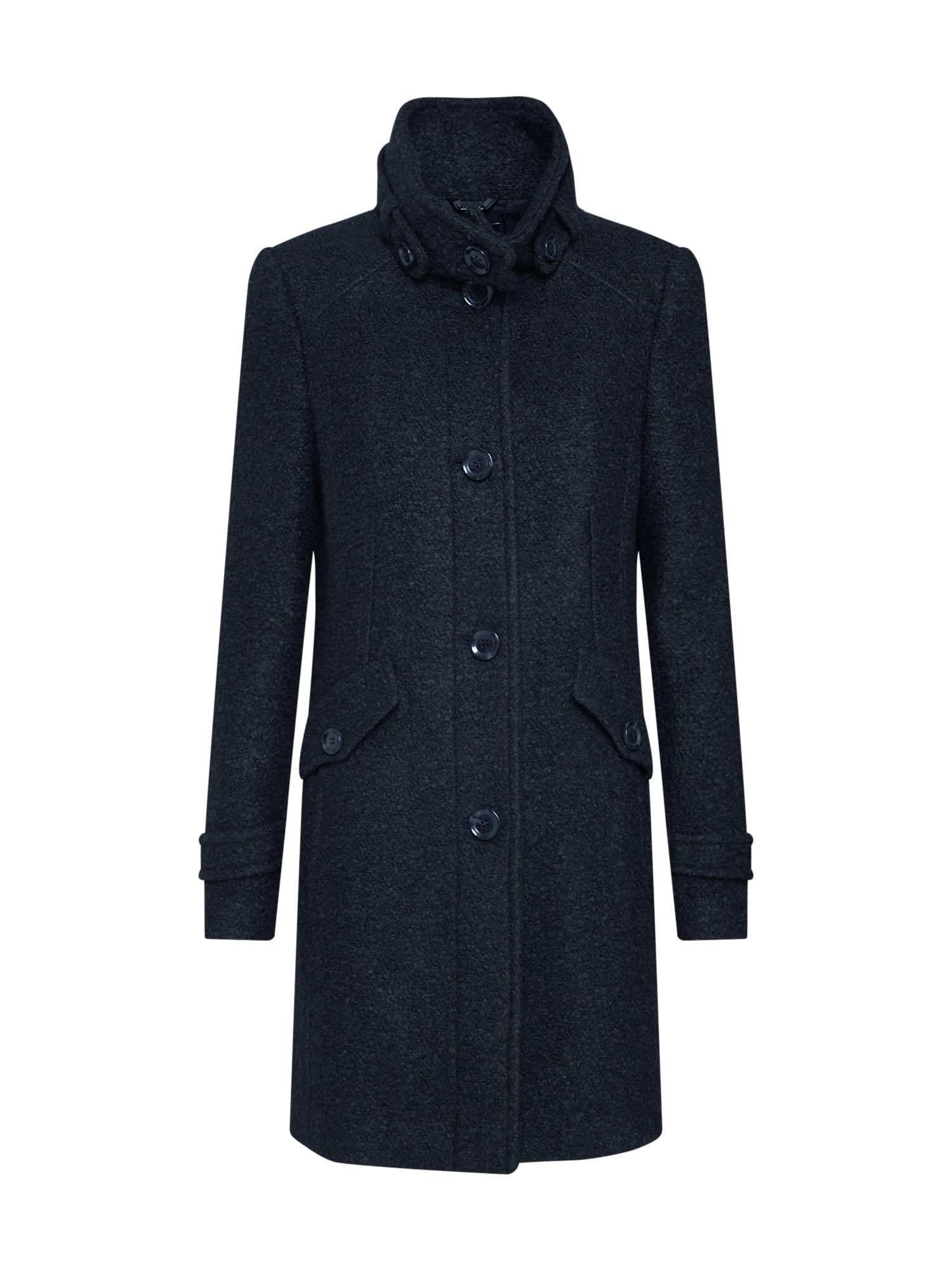 COMMA Rudeninis-žieminis paltas juoda