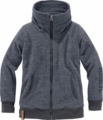 BENCH Fleecejacke Melange-Optik