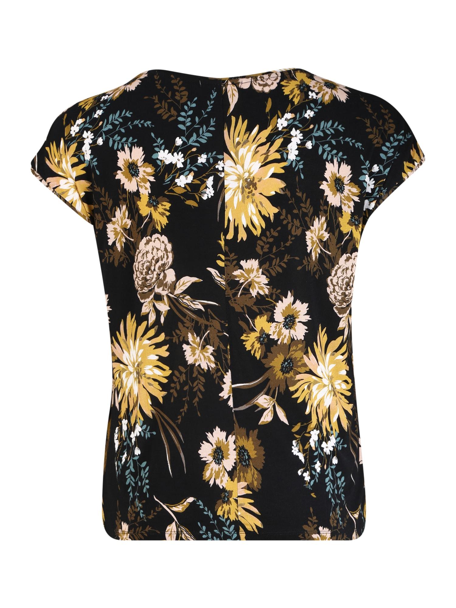 ABOUT YOU Curvy T-shirt 'Fergie'  svart / blandade färger