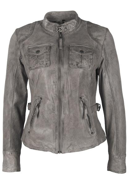 Jacken für Frauen - Gipsy Lederjacke 'BIGGY' grau  - Onlineshop ABOUT YOU