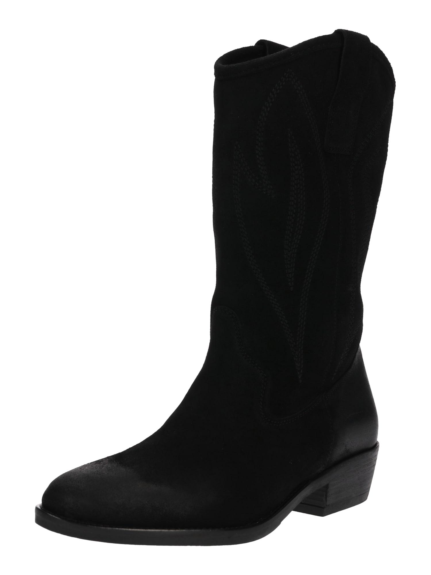 Bianco Kaubojiški batai 'Biabeverly' juoda