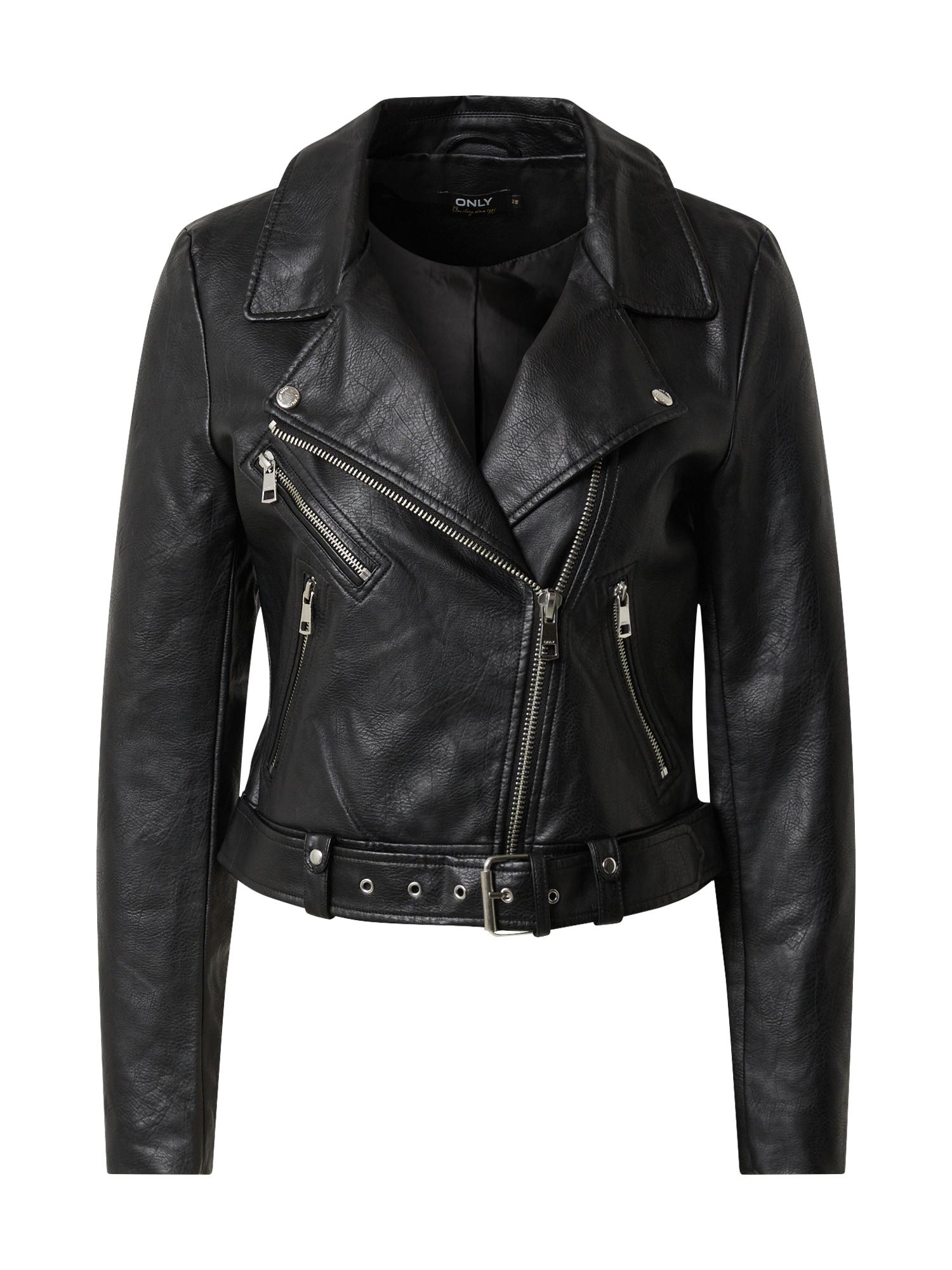 ONLY Prechodná bunda 'ONLVALERIE'  čierna