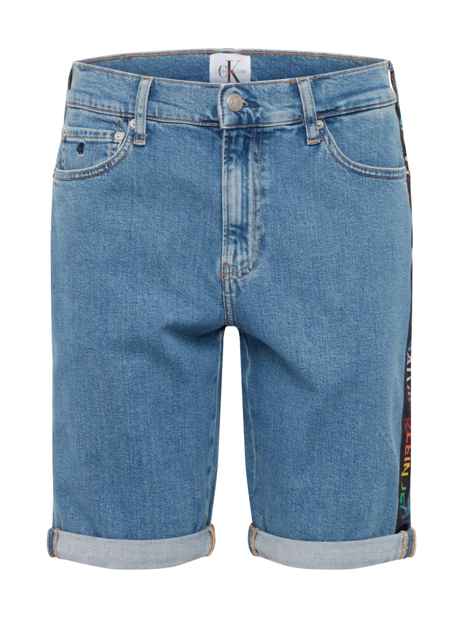 Calvin Klein Jeans Džinsai 'PRIDE SLIM SHORT' tamsiai (džinso) mėlyna