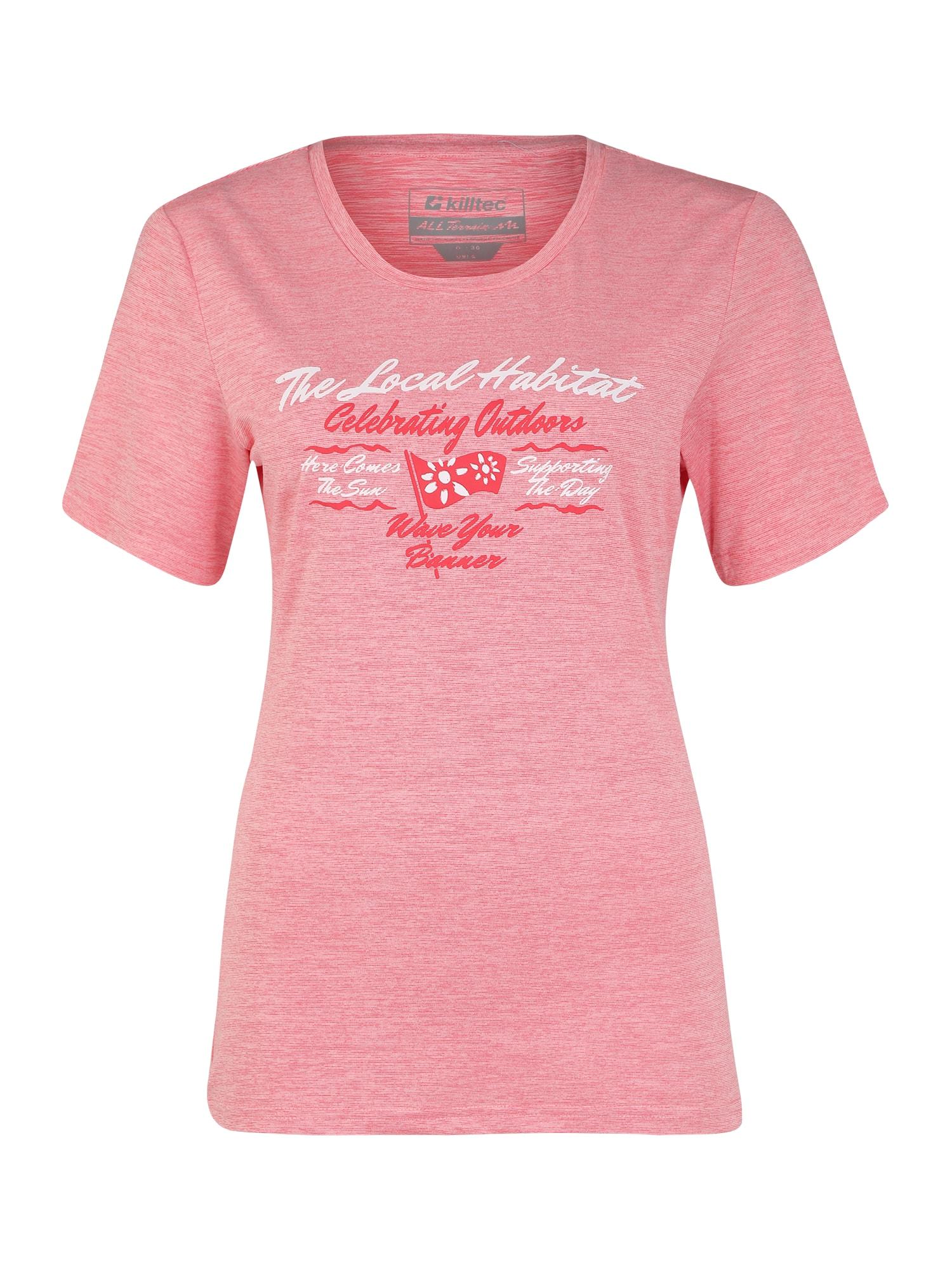 KILLTEC Sportiniai marškinėliai 'Pimetia' avietinė